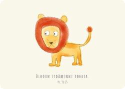 Karismakirja-postikortit-leijona