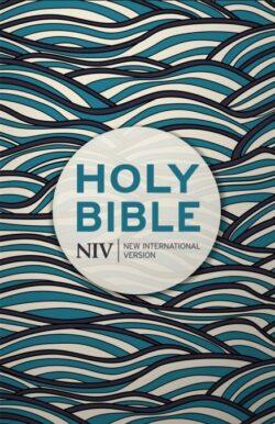Holy Bible NIV paperback blue